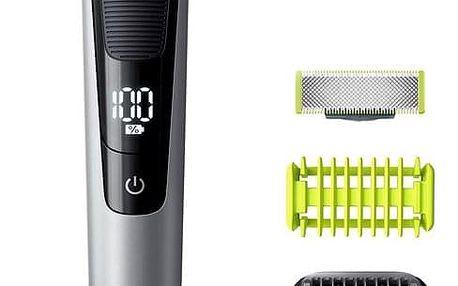 Zastřihovač vousů Philips OneBlade QP6620/20 Face + Body černý