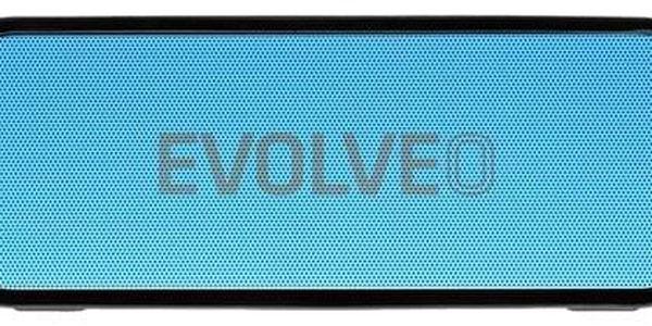 Přenosný reproduktor Evolveo Armor GT8 (ARM-GT8-BLU) černé/modré