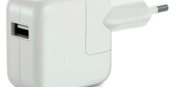 Nabíječka do sítě Apple 12W pro iPhone/iPad (MD836ZM/A) bílá2