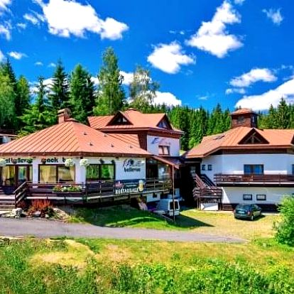 Harrachov: Sport Hotel Bellevue K-180 *** s polopenzí a slevou na půjčení kol
