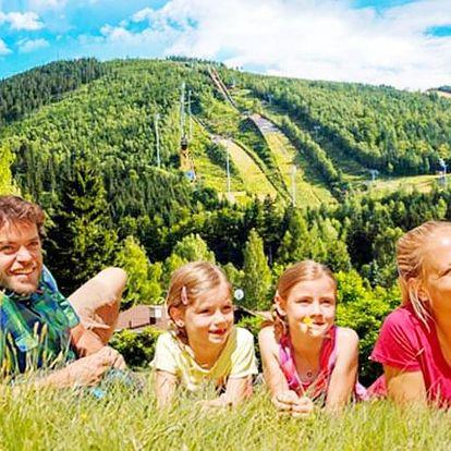 Prázdninová dovolená v Harrachově s polopenzí a bonusem pro děti