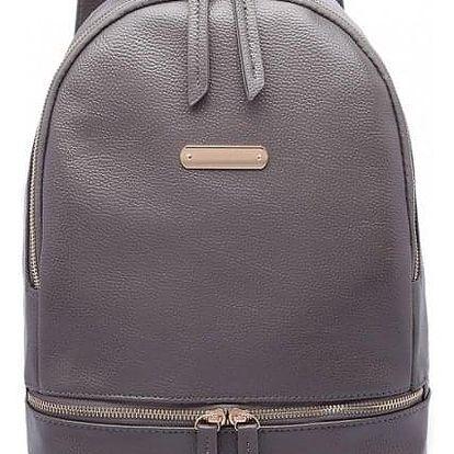 Dámský šedý batoh Zazi 6606
