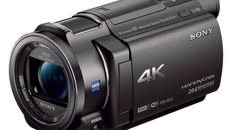Videokamera Sony FDR-AX33B černá