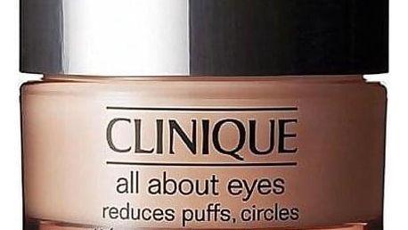 Clinique All About Eyes 30 ml oční krém proti otokům a tmavým kruhům pro ženy