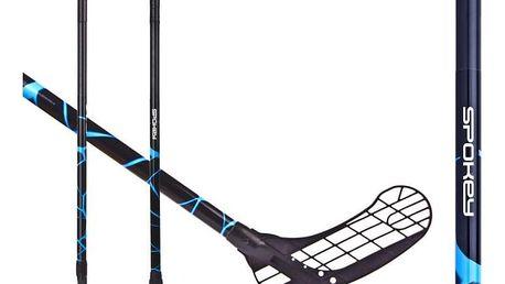 Spokey MASSIG II Florbalová hokejka P modrá