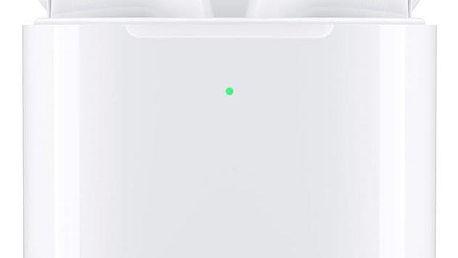 Apple AirPods, bezdrátové nabíjení (2019) bílá (MRXJ2ZM/A)