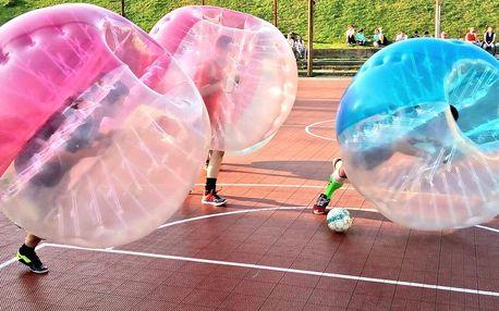 Fotbalový Bubbleball pro 4–8 hráčů i s rozhodčím