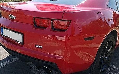 Zážitková jízda v supersportu Chevrolet Camaro na 15–60 min. Palivo a zdarma až 3 spolujezdci.