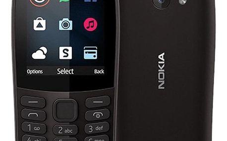 Nokia 210 Dual SIM černý (16OTRB01A04)