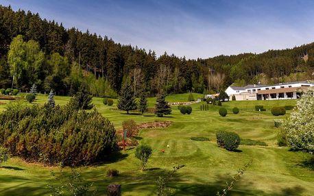 Luxusní Golf & Spa Resort Cihelny**** u Karlových Varů s wellness a golfem