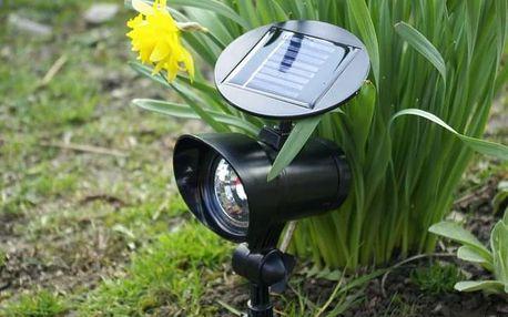 Garthen 312 Zahradní LED Solární reflektor se 3 LED diodami