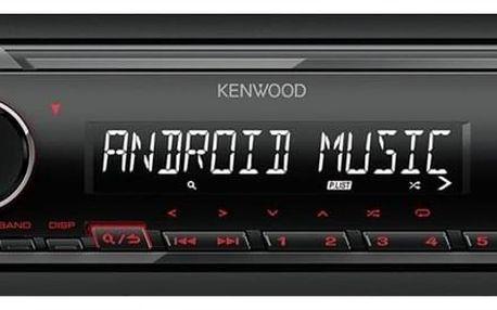 Autorádio KENWOOD KMM-105RY černé