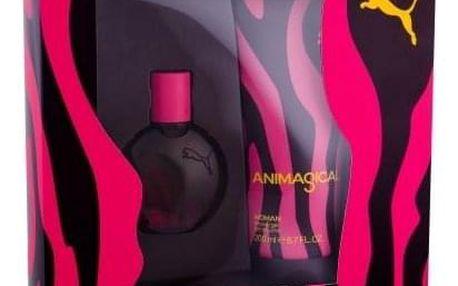 Puma Animagical Woman dárková kazeta pro ženy toaletní voda 20 ml + sprchový gel 200 ml