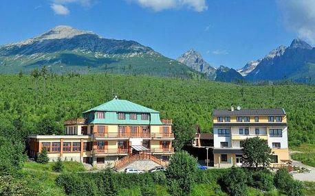 Vysoké Tatry: Miramonti Resort *** s polopenzí a saunou + električka zdarma
