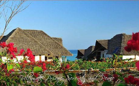 Zanzibar - Kasha Boutique Hotel na 9 dní, polopenze s dopravou letecky z Prahy