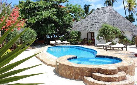 Zanzibar - Sea View Lodge (Jambiani) na 12 dní, polopenze s dopravou letecky z Prahy