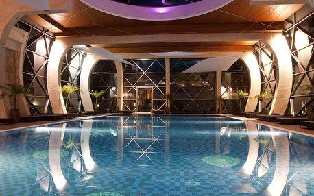 Sárvár, Spirit Hotel Thermal Spa***** s wellness a termály, Šárvár, Maďarsko