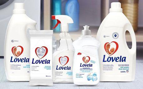Přípravky Lovela pro miminka: aviváž, prací gel aj.