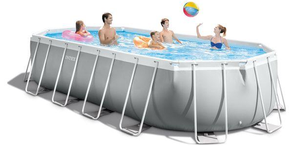 Marimex Bazén Florida Premium ovál 6,10x3,05x1,22 m s kartušovou filtrací a příslušenstvím - 103402252