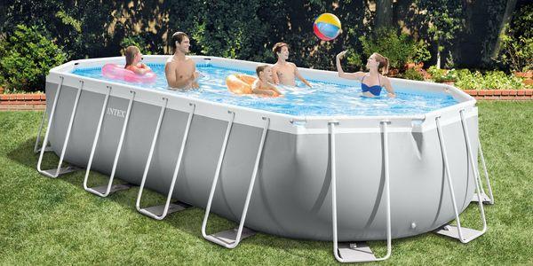Marimex Bazén Florida Premium ovál 6,10x3,05x1,22 m s kartušovou filtrací a příslušenstvím - 103402253