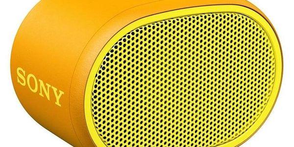 Sony SRS-XB01 žlutý (SRSXB01Y.CE7)
