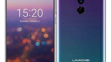 Mobilní telefon UMIDIGI Z2 Special Edition Dual SIM zelený/fialový (UMIDIGIZ2SPTW)