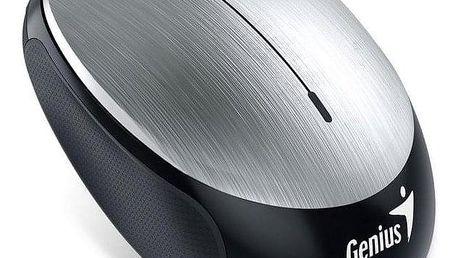 Genius NX-9000BT stříbrná / optická / 3 tlačítka / 1200dpi (31030120102)