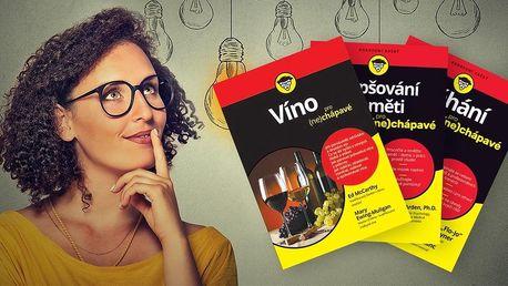 3 knihy pro (ne)chápavé o běhání, paměti i vínu
