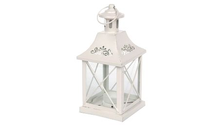 Altom Kovová dekorativní lucerna Sara, 10 x 20 cm