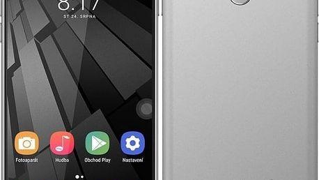 Mobilní telefon Umax VisionBook P55 LTE šedý (UMM200P55)