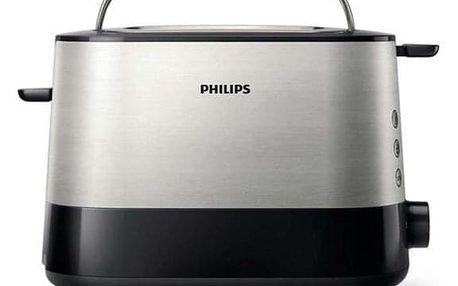 Philips Viva Collection HD2637/90 černý/stříbrný