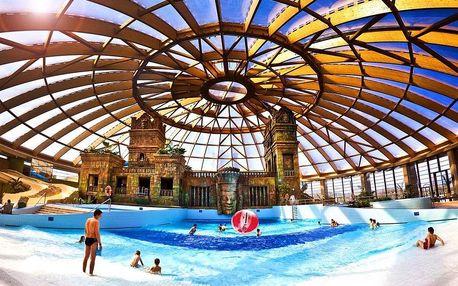 Budapešť, Aquaworld Resort**** s wellness a aquaparkem, Budapešť, Maďarsko
