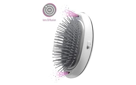Lanaform Silky Hair Brush šedá