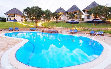 Zanzibar - Kiwengwa na 8 dní, plná penze nebo polopenze s dopravou letecky z Prahy
