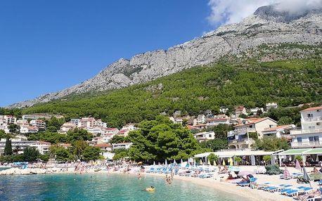 Chorvatsko - Baška Voda na 8 až 9 dní, bez stravy s dopravou letecky z Ostravy