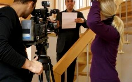 Reportérem a moderátorem na zkoušku