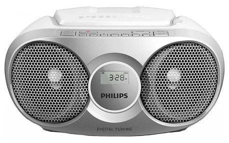 Philips AZ215S stříbrný