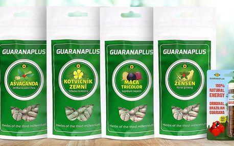Přírodní rostlinné doplňky Guaranaplus bez chemie