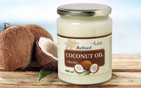 Rafinovaný kokosový olej na vaření i pečení