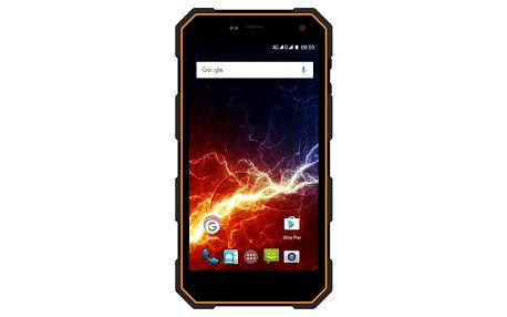 Mobilní telefon myPhone Hammer Energy LTE Dual SIM černý/oranžový (TELMYAHAENEROR)