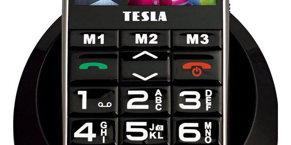Mobilní telefon Tesla SimplePhone A50 (TAMBPSNA50BK) černý2