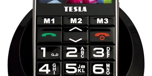 Mobilní telefon Tesla SimplePhone A50 (TAMBPSNA50BK) černý