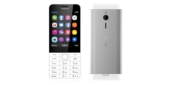 Nokia 230 Dual SIM bílý (A00026951)