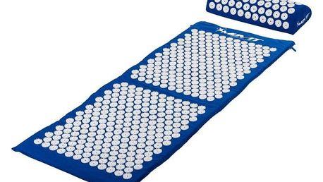 MOVIT 40601 Akupresurní podložka s polštářem 130 x 50 cm - modrá