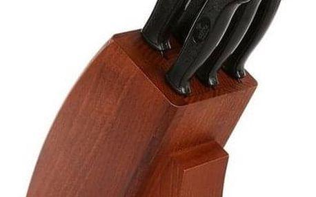 Altom 5dílná sada nožů ve dřevěném stojanu Onyks