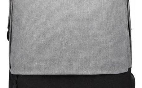 Dámský šedo-černý batoh Karley 6891