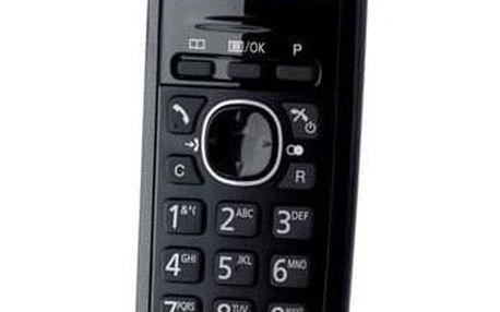 Panasonic KX TG1611FXH DECT šedý (KX-TG1611FXH)