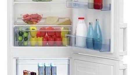 Chladnička s mrazničkou Beko CSA 270 M21W bílá