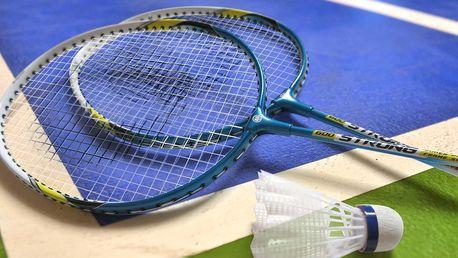 Kompletní badmintonová výbava pro 4 hráče