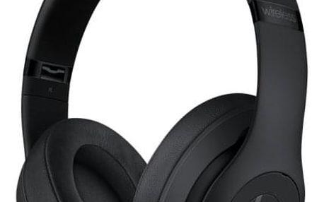 Sluchátka Beats Studio3 Wireless - matně černá (mq562ee/a)